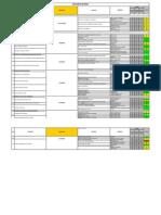 Matriz de Riesgos construcción de línea de 23 Kv Mejillones- Edelnor
