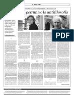 2013-06-30 - La filosofía perruna o la antifilosofía