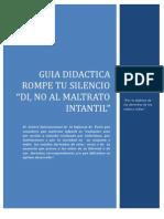 Guia Didactica Contra El Maltrato Infantil