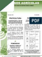 FRUTICULTURA - manejo fitossanitario