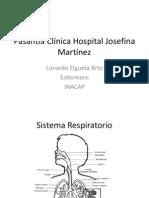 Pasantía Clínica Hospital Josefina Martínez