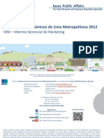 IGM Niveles Socioeconomicos 2012