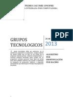 1.1.2 GRUPOS TECNOLOGICOS