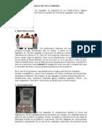 ETAPAS DE DESARROLLO DE UNA CAMPAÑA