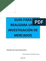 Guia Para Realizar Una Investigacion de Mercados