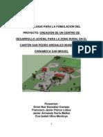 Metodologia Para La Fomulacion Del Proyecto Tarea