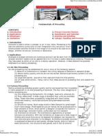 Fundamentals of Precasting