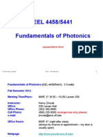 Introduction to Photonics