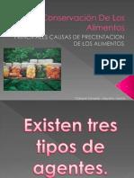 Conservación De Los Alimentos Yanina Gimena