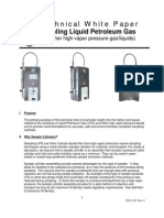 LPG Sampling