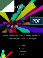 Business Quiz by Amritraj D Bangera