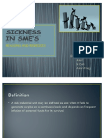Reasons and Remedies for Sickness in Smes by Amritraj d Bangera