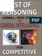 Upkar s Test of Reasoning Solved e Book 508 Pages