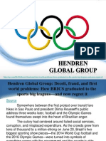 Hendren Global Group, Deceit, Fraud, And First World Problems, How BRICS Graduated to the Sports Big Leagues and Now Regret It