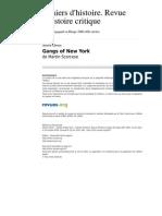 Chrhc 1617 88 Gangs of New York