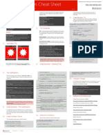 WP 7.5 Cheat Sheet - Live Tiles - V1.0