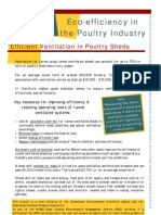 Eco-efficiency in the Poultry Industry