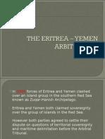 Eritrea Yemen Arbitration