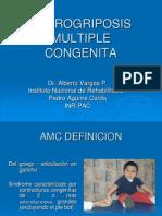 Artrogriposis 5°Año