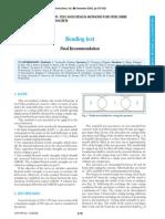 RILEM TC 162-TDF - Test and Design Methods for Steel Fibre Reinforced Concrete - BENDING TEST - Final Recommendation