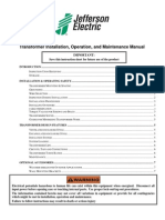 J.E. Maintenance Manual 2011 07