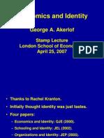 Akerlof Identity Conference1