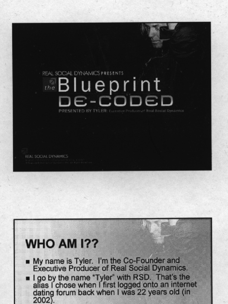 Rsd blueprint decoded dvd