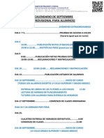 28 Calendario Provisional Alumnado