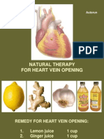 Heart_Block_Vein_Opening_Natural_Remedy.pps
