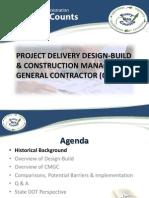DesignBuild CMGC Presentation