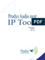 Prodys Audio Over IP Tools Castellano