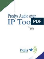 Prodys Audio Over IP Tools Castellano