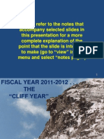 Keaton Presentation on FY12 Budget Shortfall