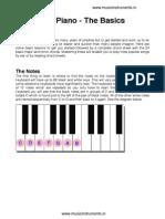 Beginners Piano