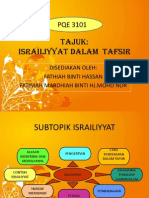 Israiliyyat Dalam Tafsir