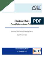 Indian Apparel Market