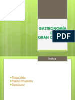 Gastronomia Gran Canaria-Alejandro Padrón Ossorio