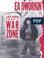 Letters From a War Zone Andrea Dworkin
