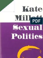 Sexual-politics - Kate Millet