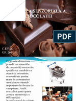 Analiza ciocolata