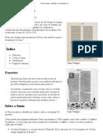 Suma Teológica – Wikipédia, a enciclopédia livre