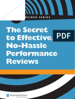 Effective No Hassle Performance Review - UK FINAL
