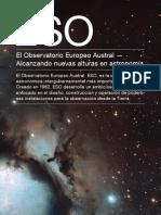 El Observatorio Europeo Austral – Alcanzando nuevas alturas en astronomía
