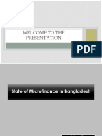 State of Micro finance in Bangladesh