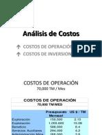 Ejemplo de Analisis de Costos
