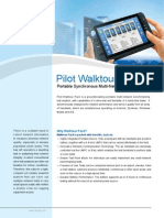 Pilot Walktour Pack-Brochure