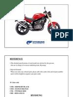 Hyosung GT250 Parts Catalogue