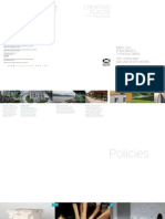 Creating Places - A Policy Statement on Architecture