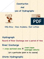 construction of hydrographs