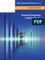 Educational Programme in Nuclear Security